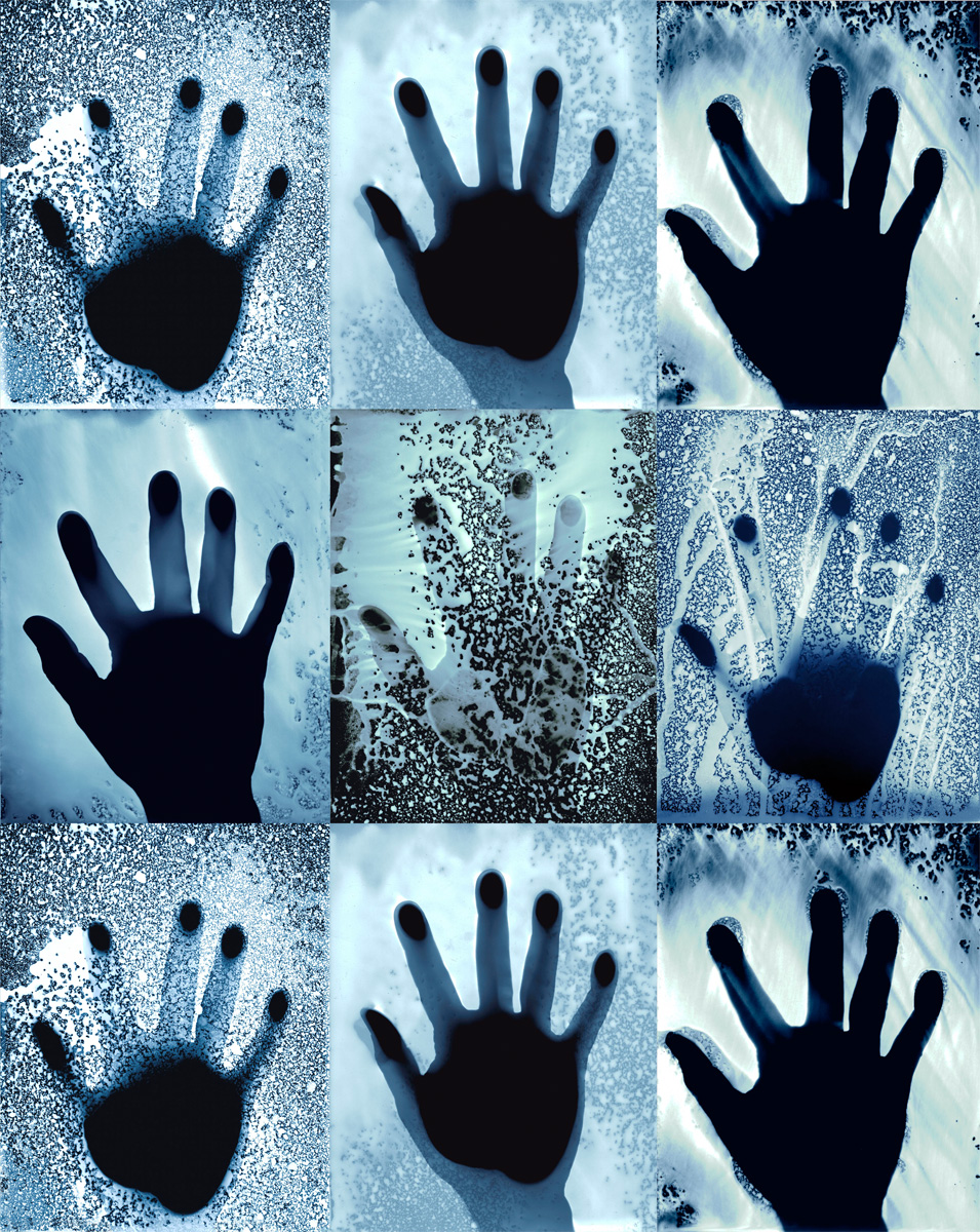 9 Hands Blue(4SQ)
