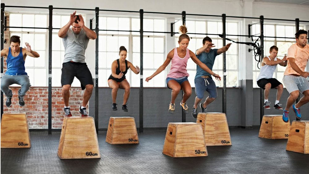 FREE HUMP DAY HIIT CLASS - Wednesdays, December 5th, 12th, 19th, 12PM - 12:45PM