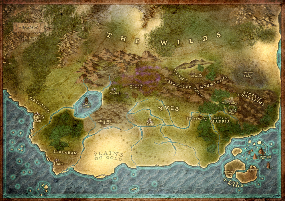 MAPS OF THE LAND -