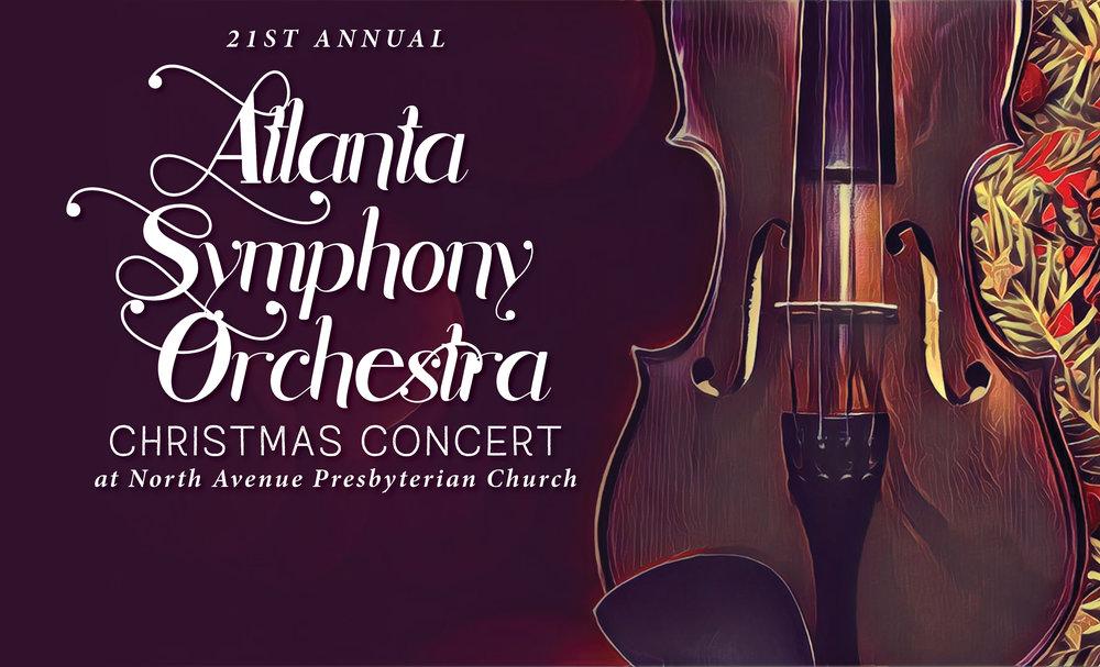 Atlanta Symphony Orchestra Christmas Concert 2018 — North Avenue ...