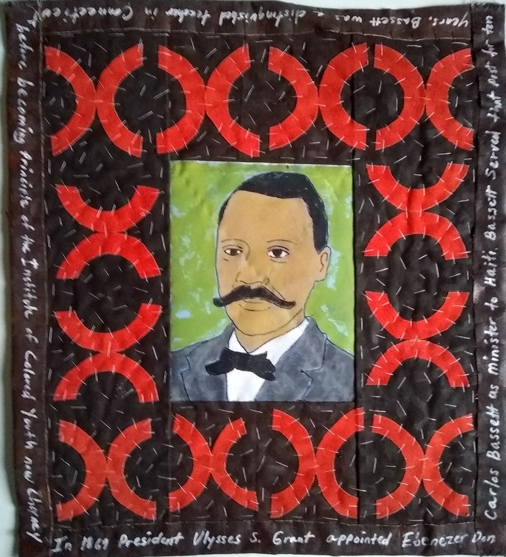 Ebenezer Don Carlos Bassett was an African American who was appointed United States Ambassador to Haiti in 1869. He was the first African-American diplomat and the fourth U.S. ambassador to Haiti since the two countries established relations in 1862. -