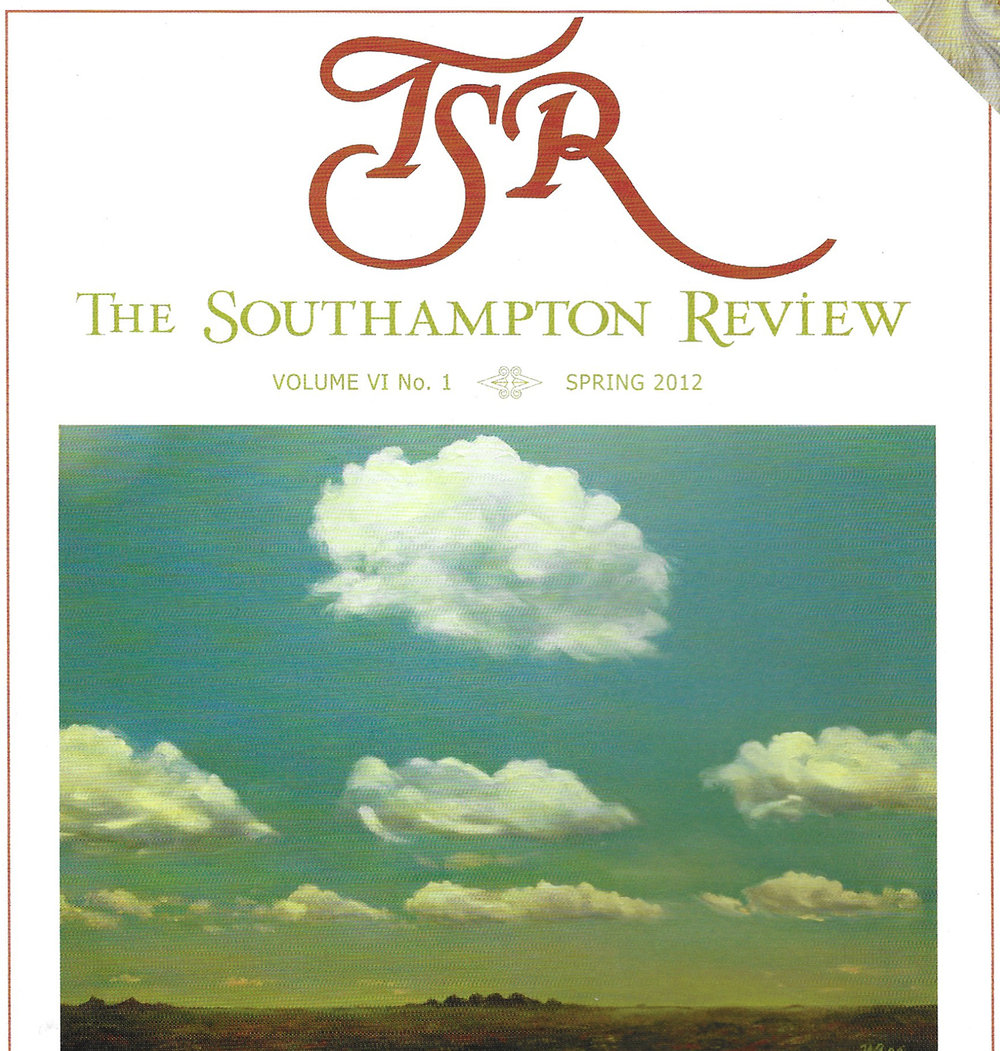Published in  The Southampton Review
