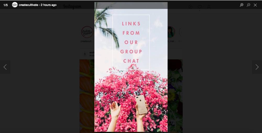 Saving Instagram Stories on Desktop