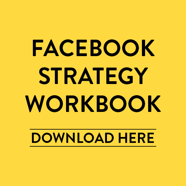 FACEBOOK STRATEGY WORKBOOK | HONEY POT DIGITAL