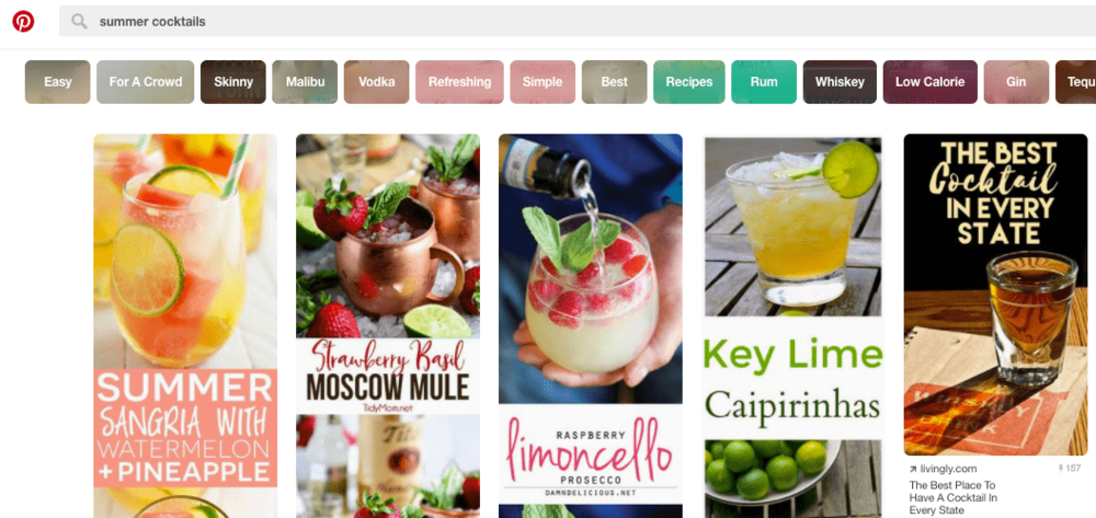 Search on Pinterest | Honey Pot Digital