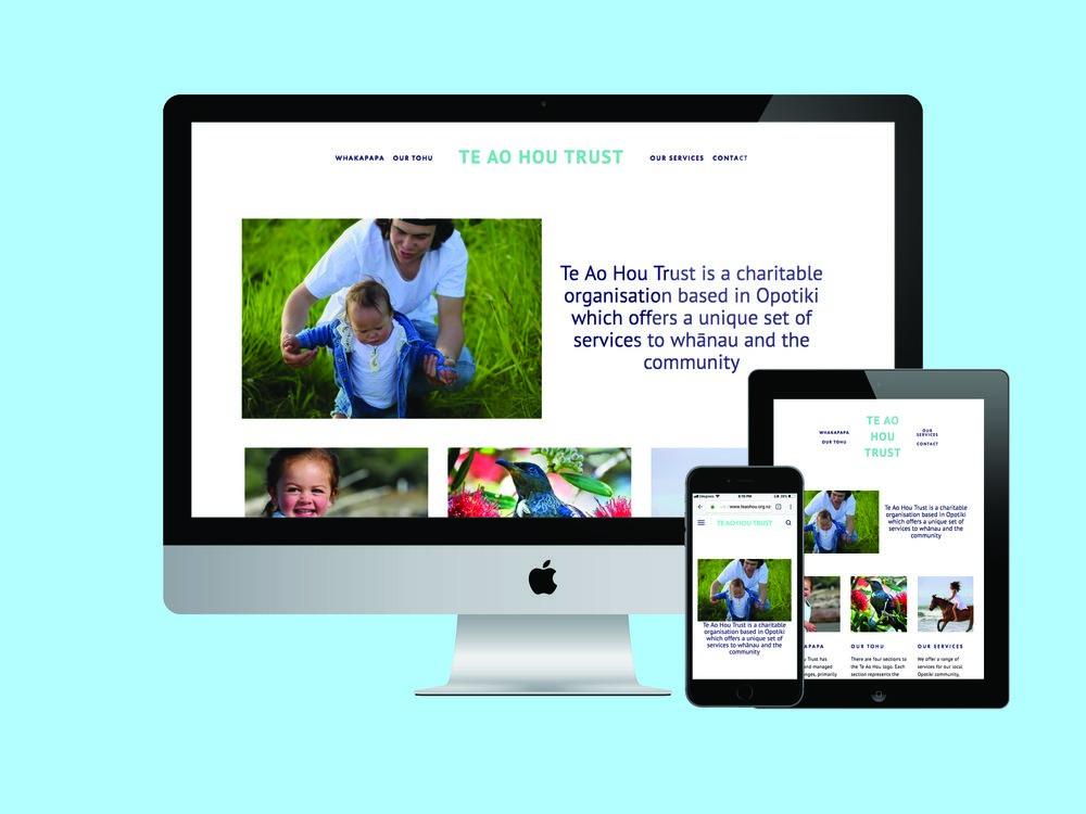 Te Ao Hou Trust Website | Honey Pot Digital