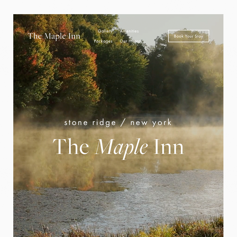 Maple Squarespace template | Honey Pot Digital