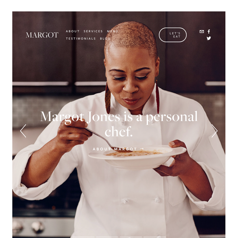 Margot Squarespace template | Honey Pot Digital