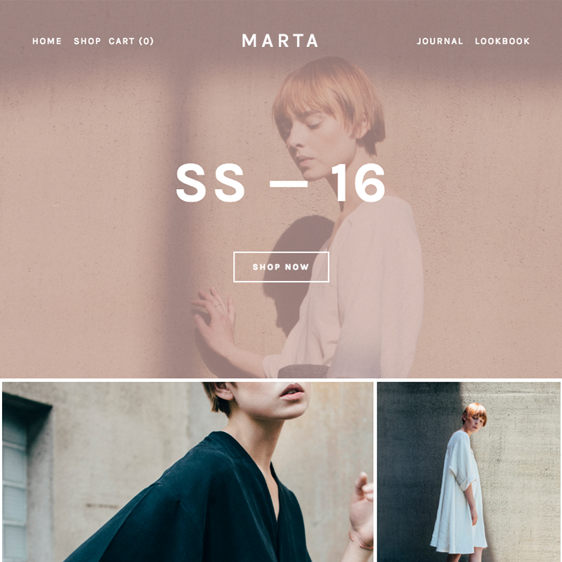 Marta Squarespace template | Honey Pot Digital