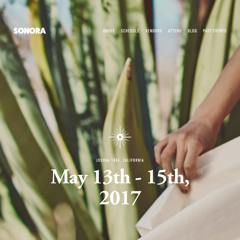 Sonora Squarespace Template | Honey Pot Digital