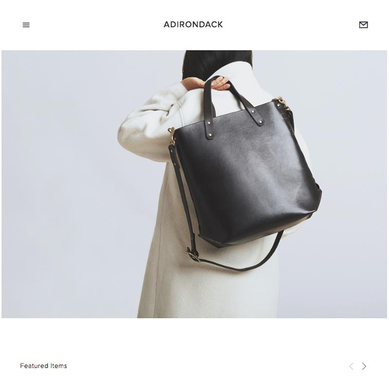 Adirondack Squarespace Template | Honey Pot Digital