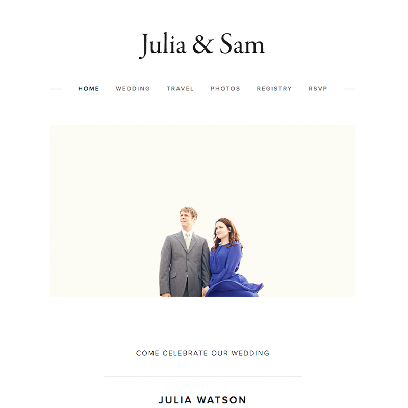 Julia Squarespace template | Honey Pot Digital