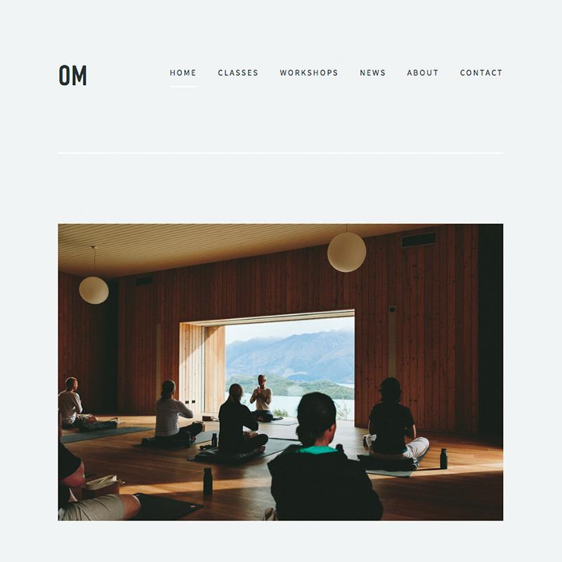 Om Squarespace template | Honey Pot Digital