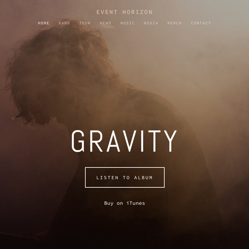 Horizon Squarespace template