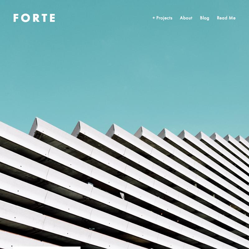 Forte Squarespace template | Honey Pot Digital