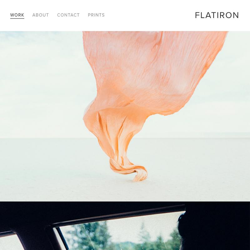 Flatiron Squarespace template | Honey Pot Digital
