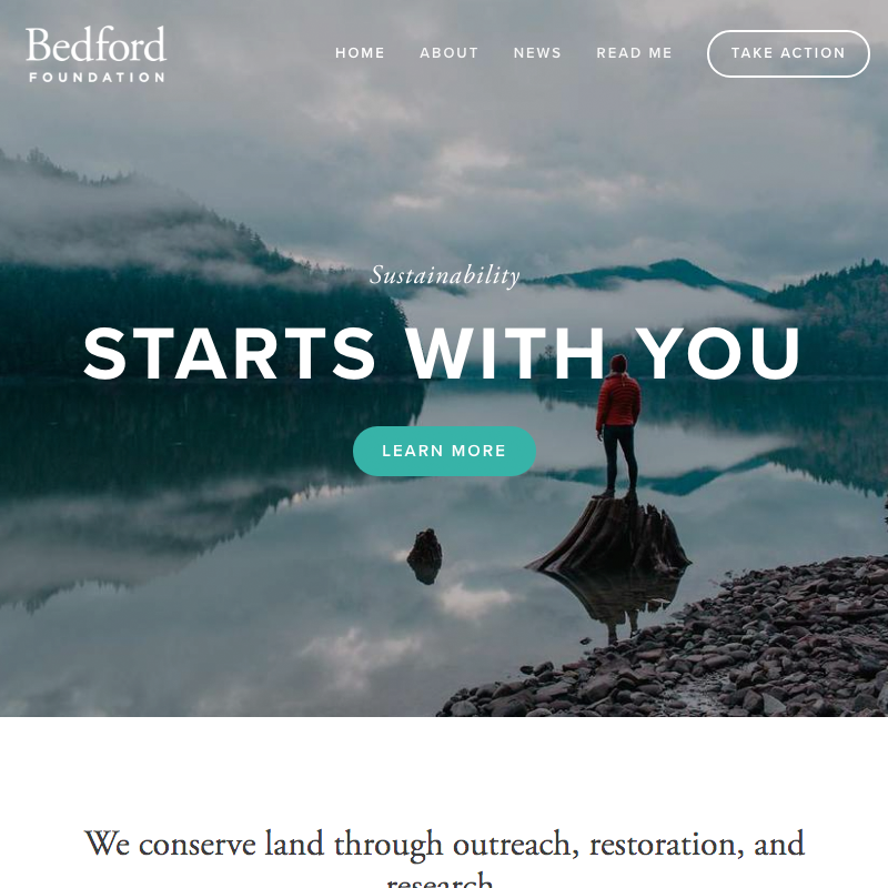 Bedford Squarespace template
