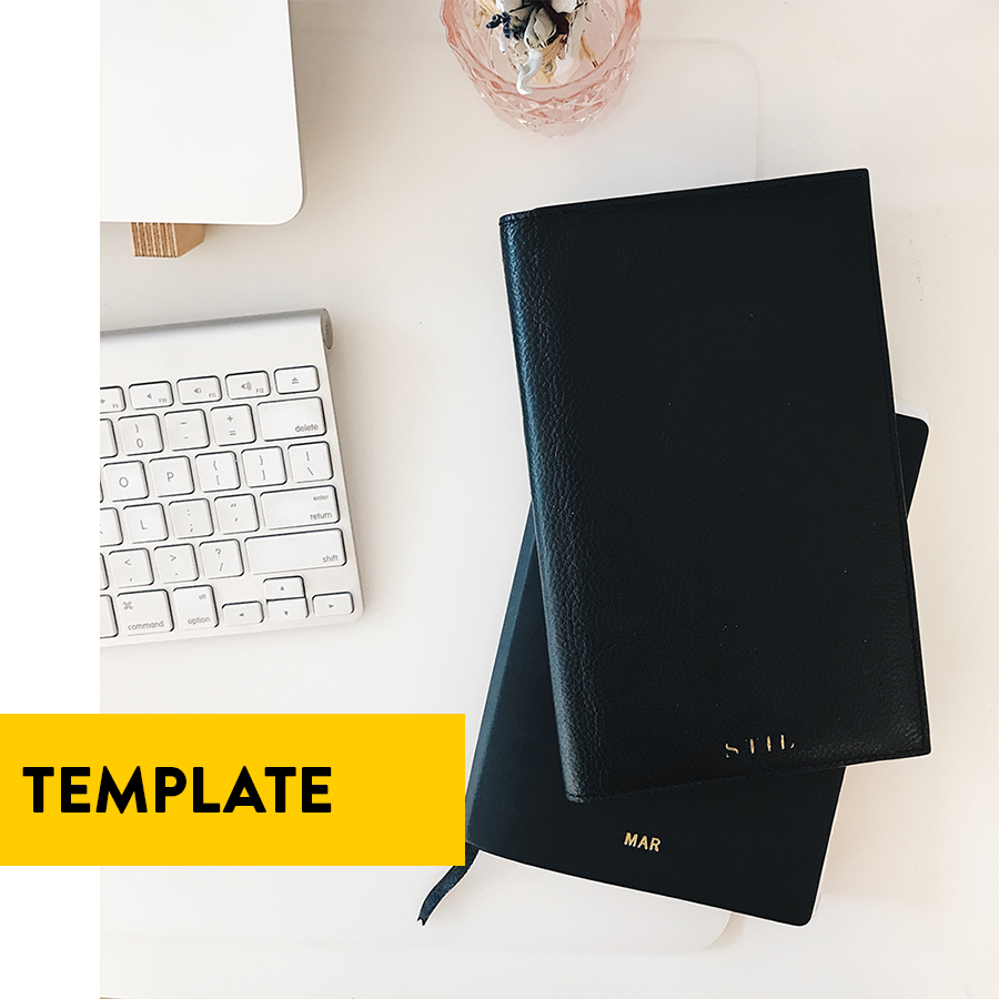 Choose your template and start your 14 day free trial