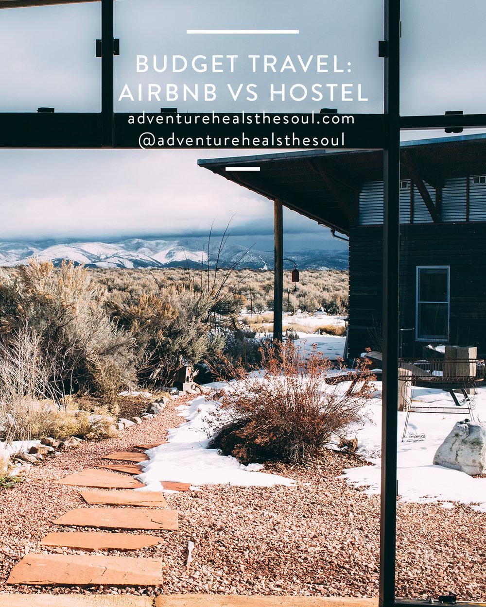 Budget Travel: Airbnb vs Hostel