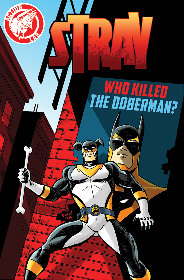 Collecting the first mini-series, WHO KILLED THE DOBERMAN? can be ordered at your local comic shop using the Diamond order code MAR150843. - Cover by Emmy and Ringo Award winner, Dean Haspiel
