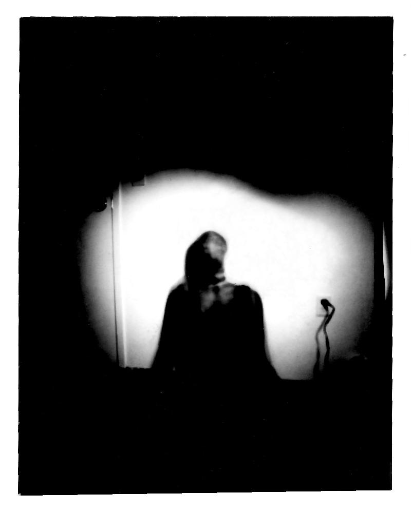 Pinhole camera - self portrait - 2019