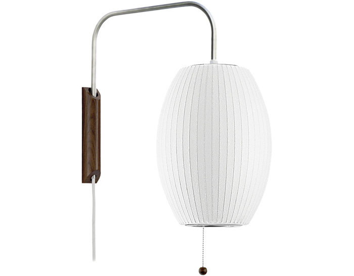 Design Within Reach | George Nelson Cigar Bubble Lamp Wall Sconce