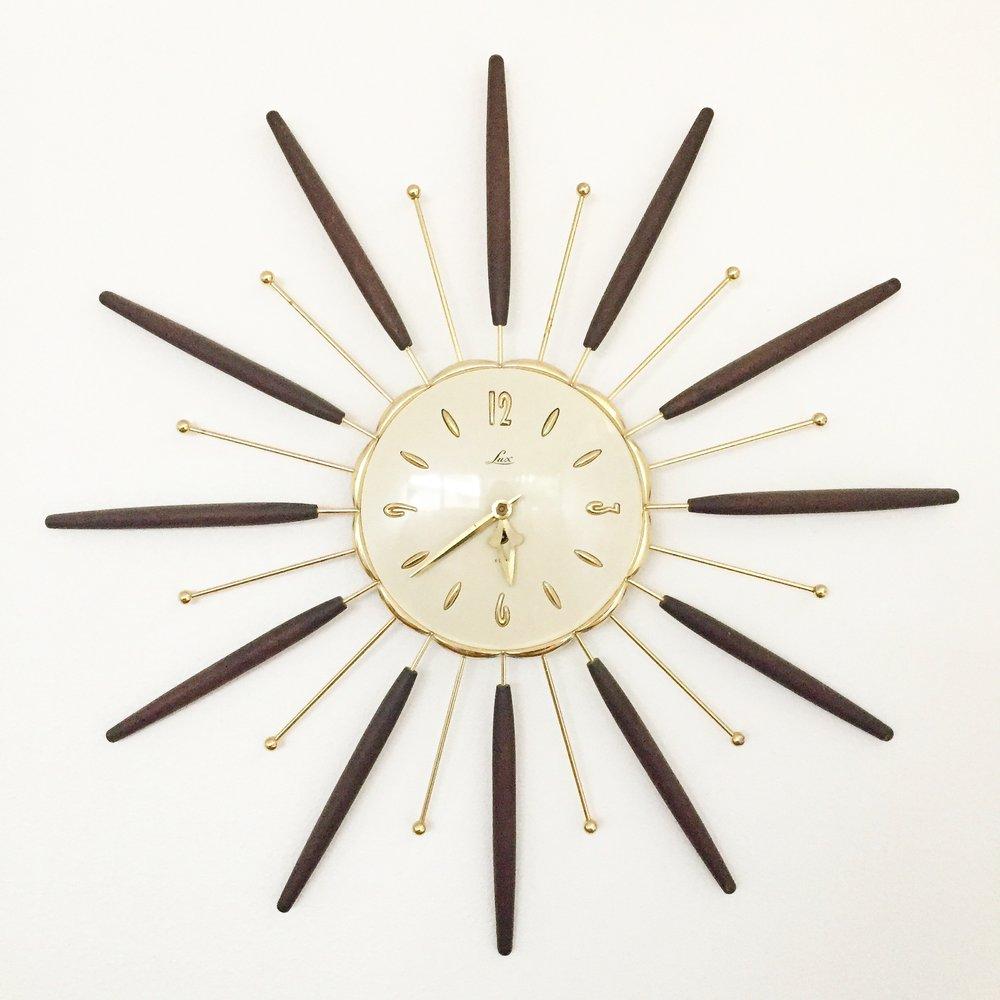 Lux Starburst Clock