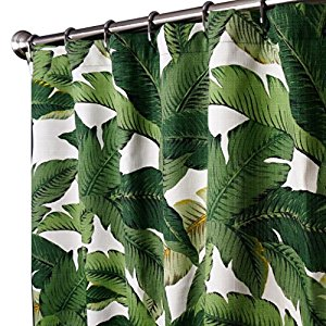 "Amazon | Tommy Bahama Fabric Palm 84"" Shower Curtain"