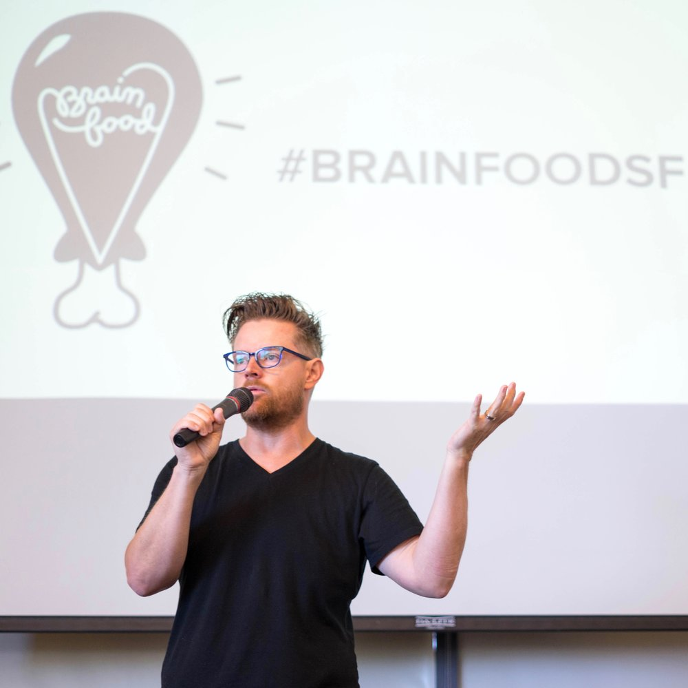 brainfood sf - spoon university's first west coast brainfood event, focusing on the intersections of food and technology