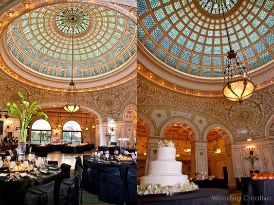 Chicago Cultural Center Wedding.Chicago Cultural Center Wedding Wedding Creativo Blog