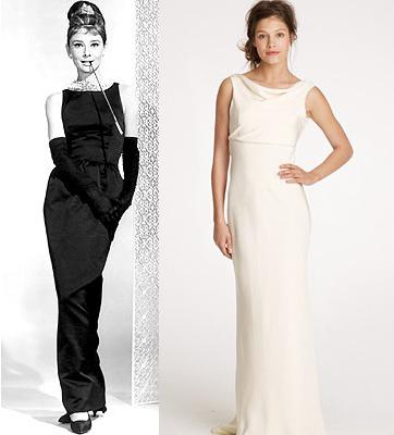 Audrey Hepburn Wedding Dresses 2012 Wedding Creativo Blog Creativo