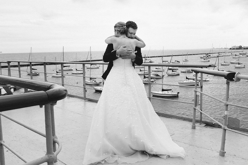 Yacht Club Lake Michigan - private yacht club wedding in chicago