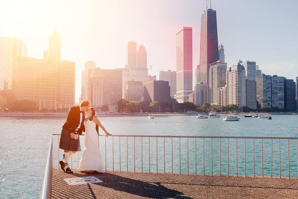 skyscraper - chicago landmark skycraper building wedding