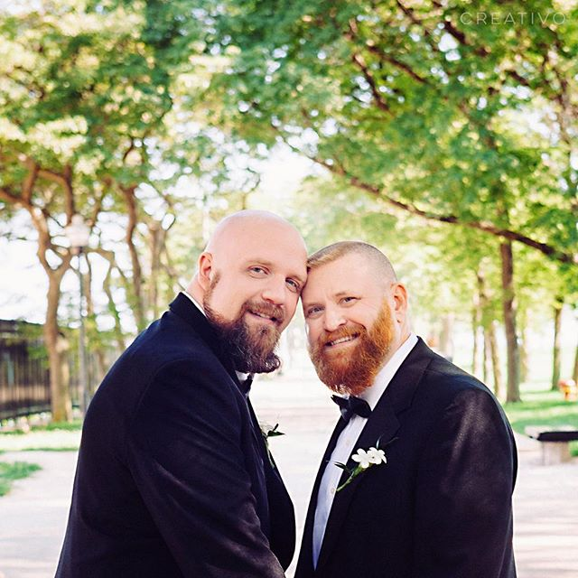 Southern gentlemen grooms, celebrated love in Chicago. Love these guys. #chicagoweddings #chicagoweddingphotographer #destinationweddingchicago