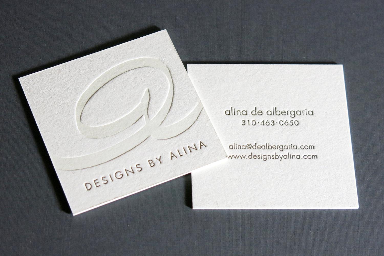 Stationery Business Cards Lumino Press