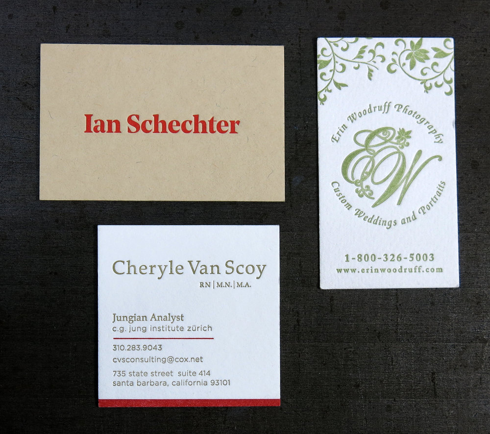 Stationery / Business Cards — Lumino Press