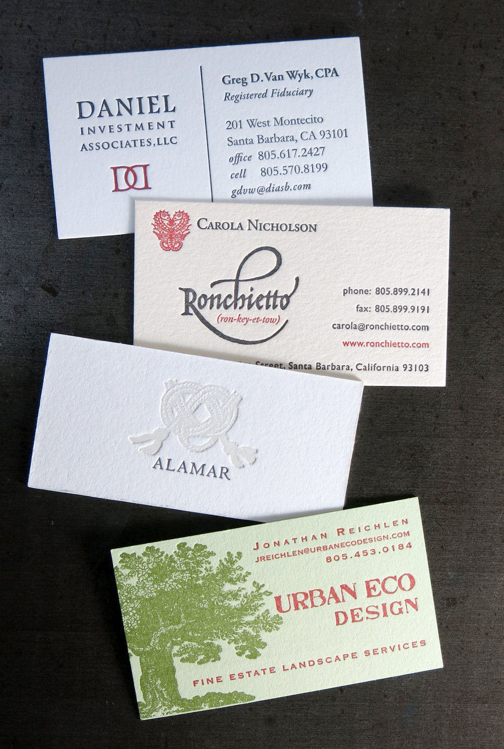 Stationery Business Cards Lumino Press