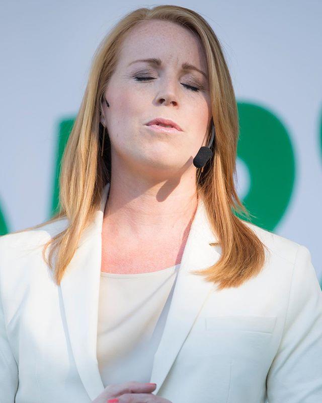 Annie Lööf, partiledare Centerpartiet.