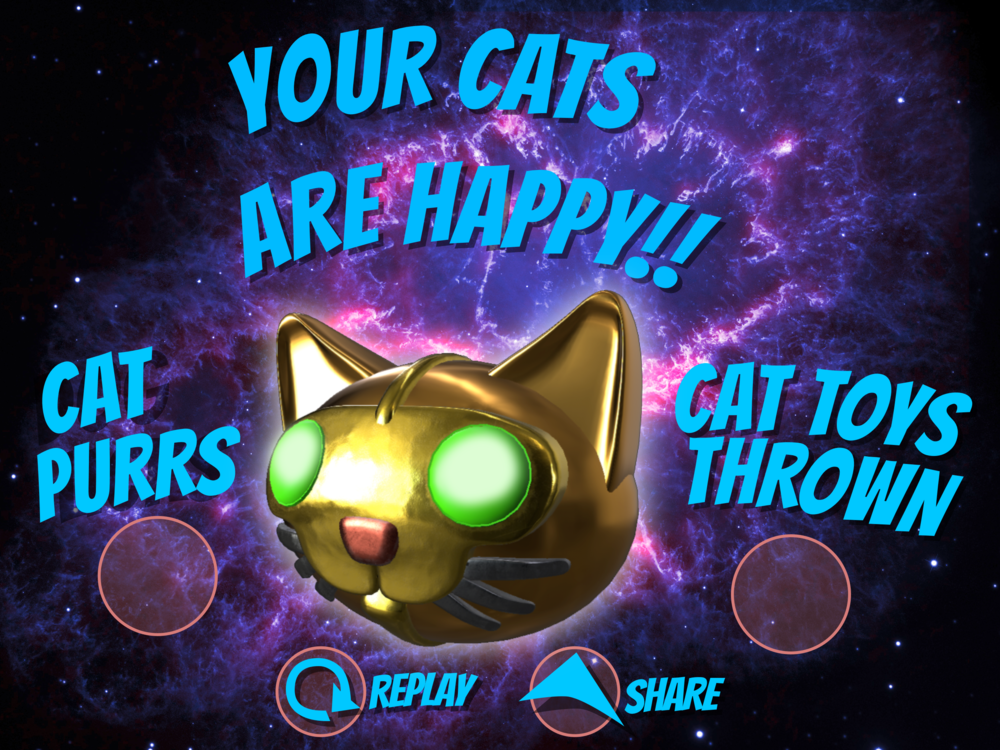 Needy Pets - iOS ARKit Game   Interaction,Interface Design
