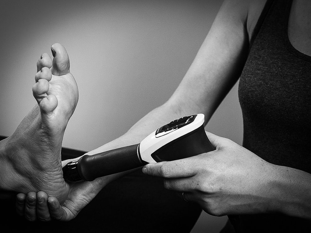 Reactivate Muskoka shockwave therapy plantar fasciitis