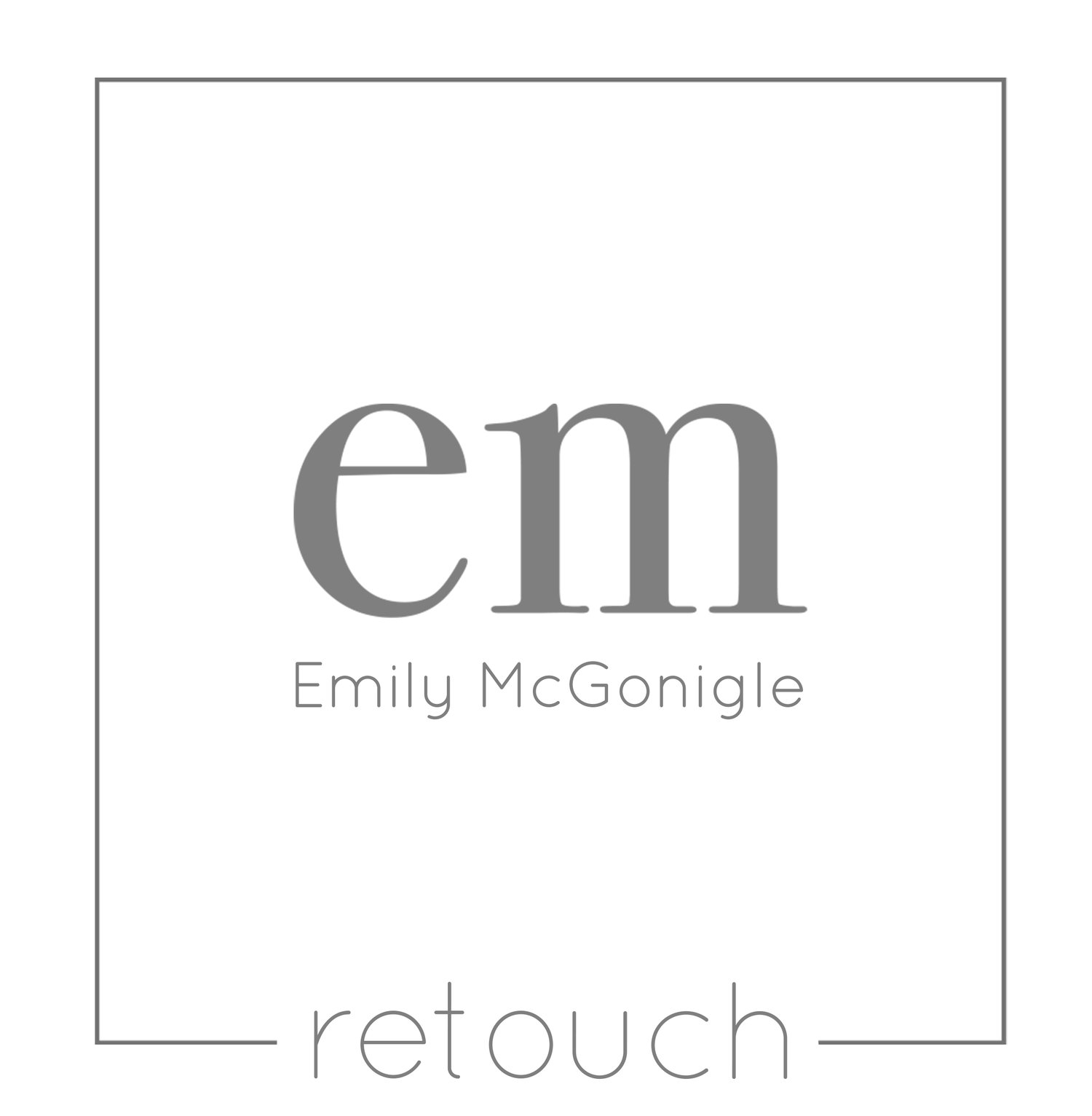 Emily McGonigle Retouch