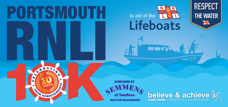 The RNLI 10K celebrates its 10th year this Sunday!