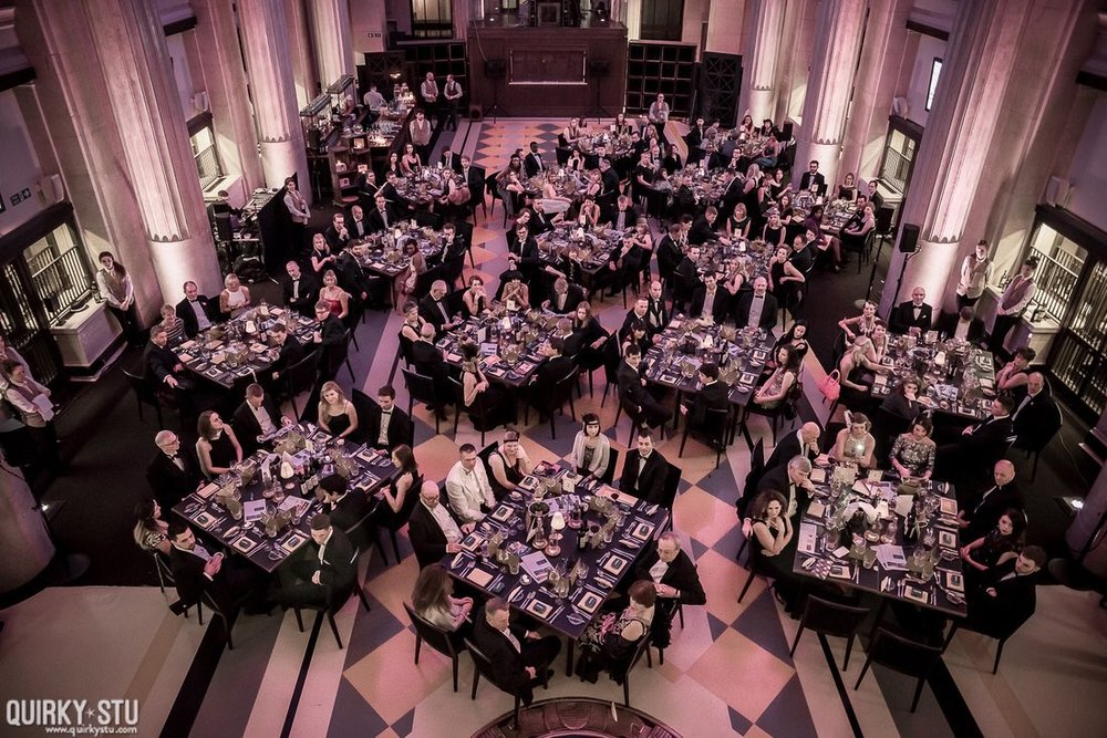 The impressive Banking Hall played host to the Charity Ball. Photograph by Quirky Stu.