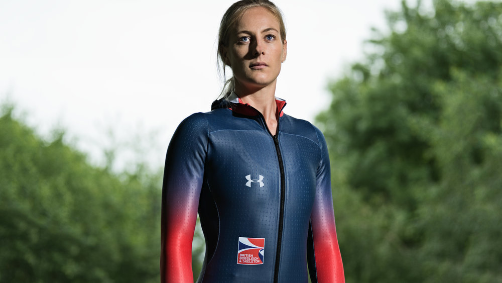 Skeleton athlete Kimberley Murray
