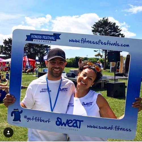 Luke and Christina Newton, Founders of SWEAT Southsea and The Fitness Festival