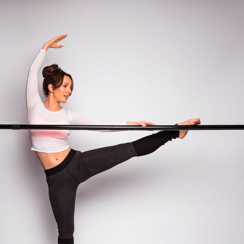 Image: Natasha Wood, London based Barre instructor
