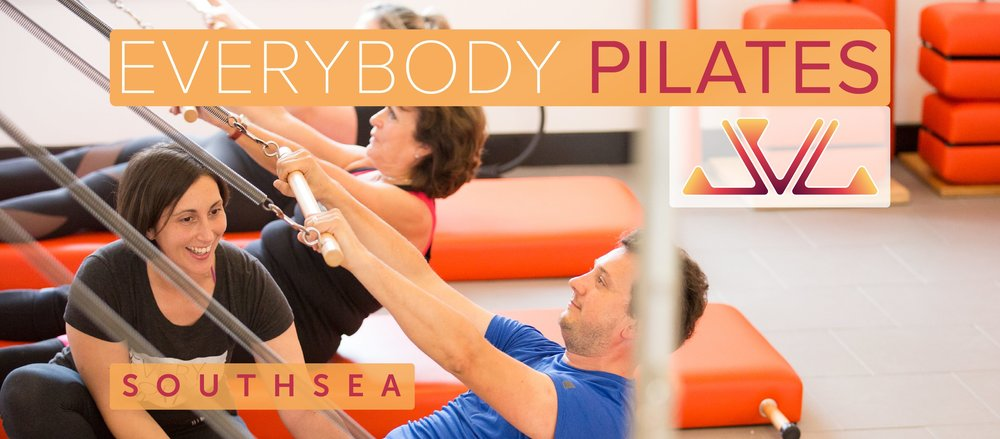 Everybody Pilates - A Classical Pilates Studio in the heart of Southsea teaching group mat classes, reformer classes, private trainings and workshops. Founded by Amy Kellow - an International presenter and 2nd generation teacher - Amy received her training with Pilates Elder Jay Grimes. All teachers at Everybody Pilates are trained by Amy and provide a consistently high level of teaching.