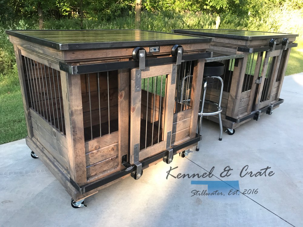 Custom kennels kennel crate for Xl indoor dog kennel