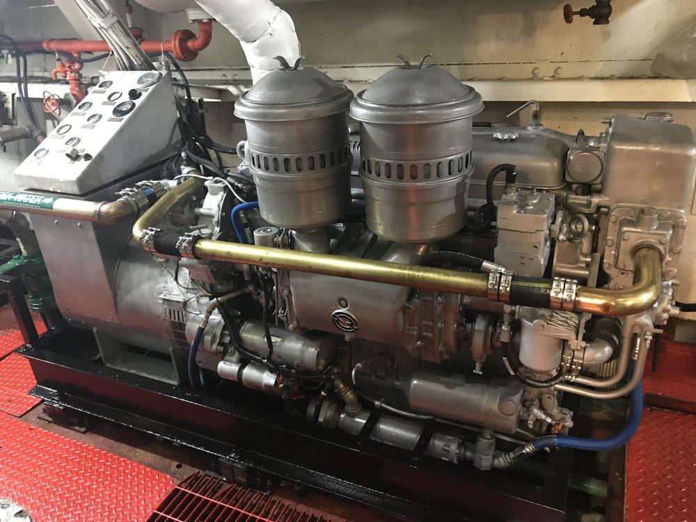 Generator #1 after restoration.