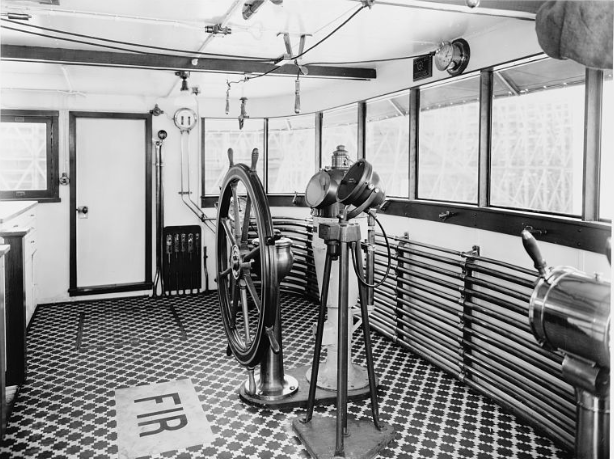 Pilot house 1939